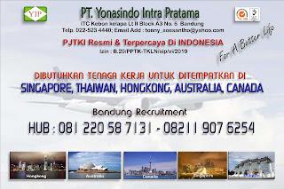 PJTKI RESMI & TERPERCAYA DI INDONESIA