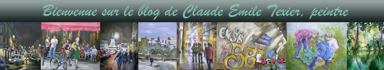 Claude Emile Texier peintre