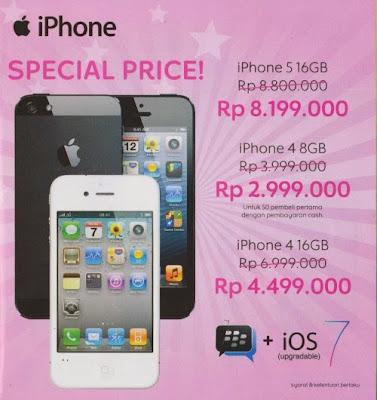 Harga Smartphone iPhone di Indocomtech 2013