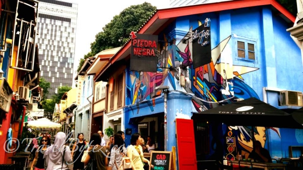 Haji Lane and Piedra Negra (Mexican Food)