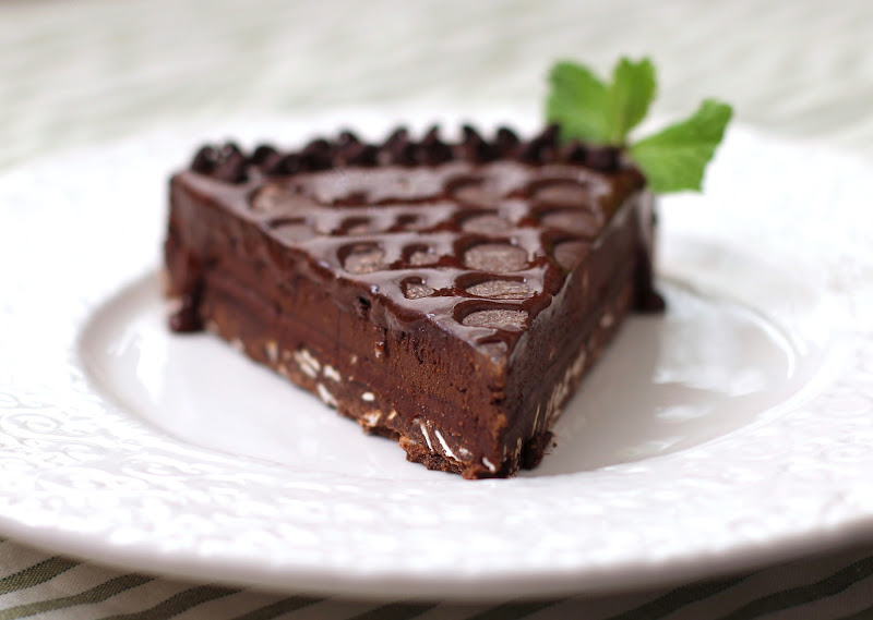 Healthy Quintuple-Chocolate Dark Chocolate Truffle Tart (To Celebrate ...