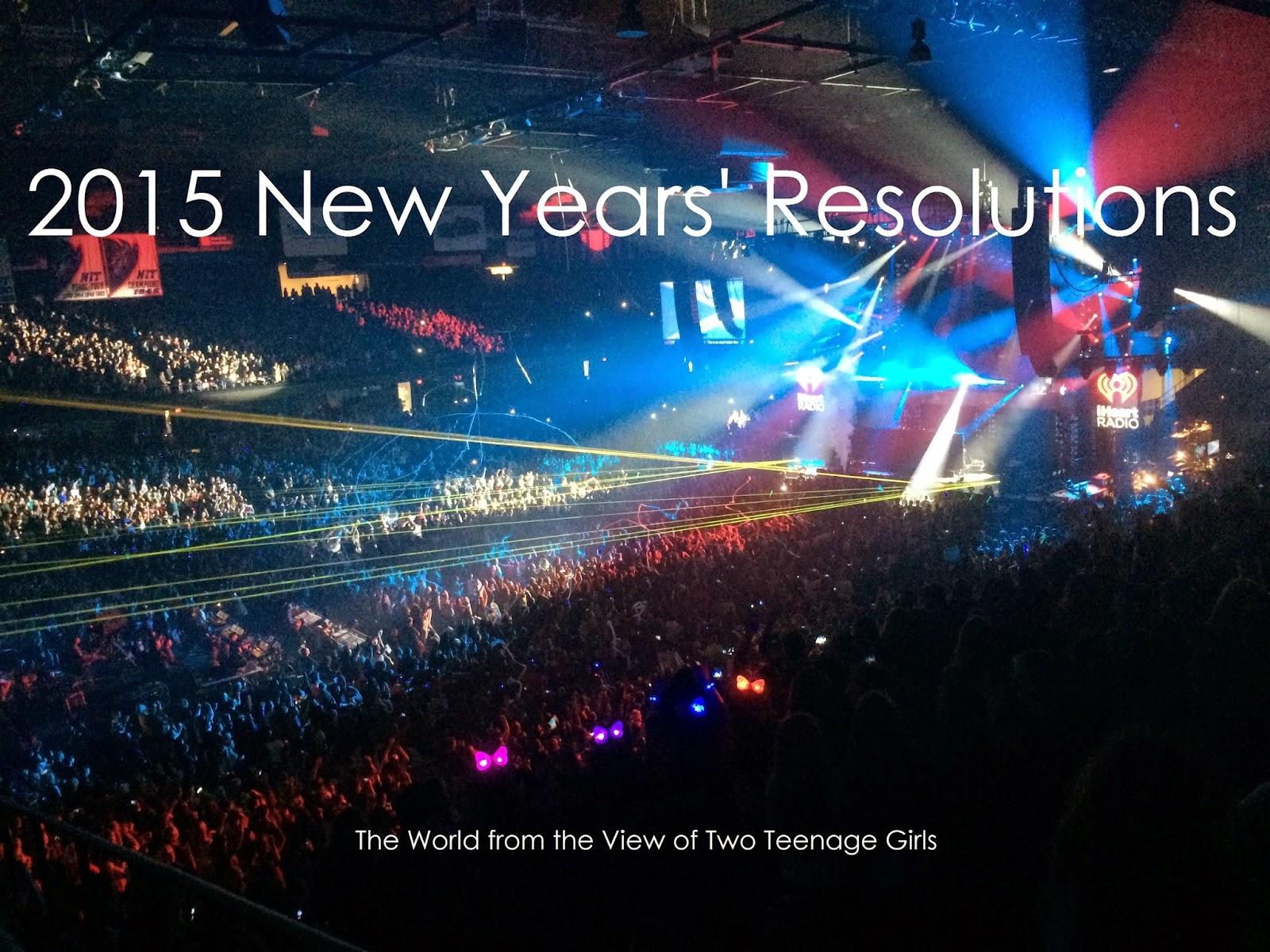 New Years 2015 Resolutions Goals Cassandra Polzin