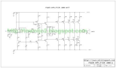 Ferdinan Carlos Audio Elektronik: Power Amplifier 1000 Watt