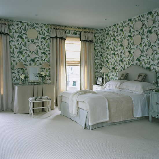 New home interior design bedroom wallpaper ideas for Latest wallpaper design for bedroom