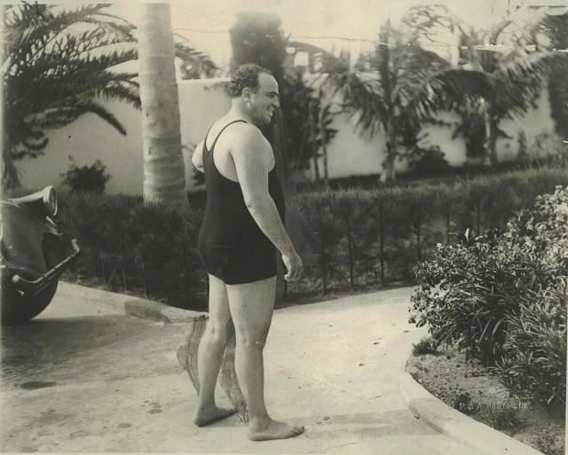 Vintage photography al capone 1929 - Maillot de bain annee 30 ...