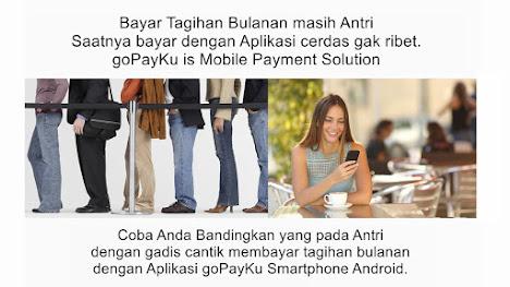 FREE Aplikasi Smartphone Android Untuk Bayar dan Top Up