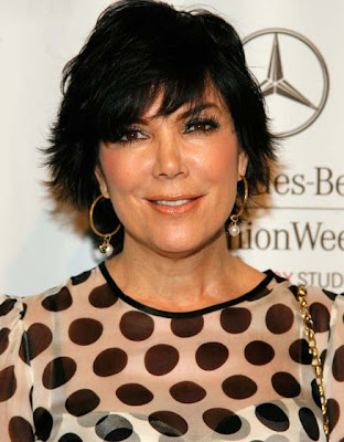 Kris Jenner Gold Hoops Earrings