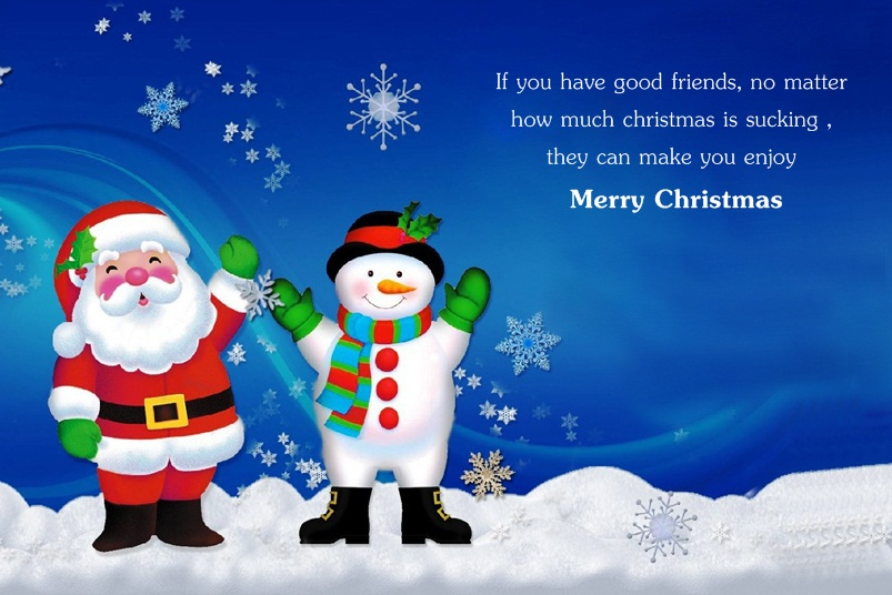 Merry Christmas Quotes About Friendship & True Relationship ...