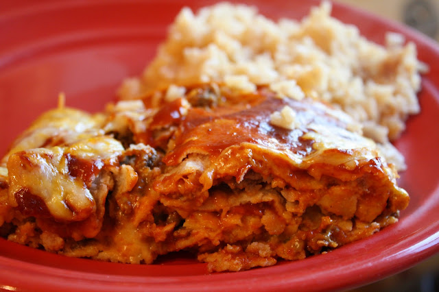 easy enchilada pie recipe