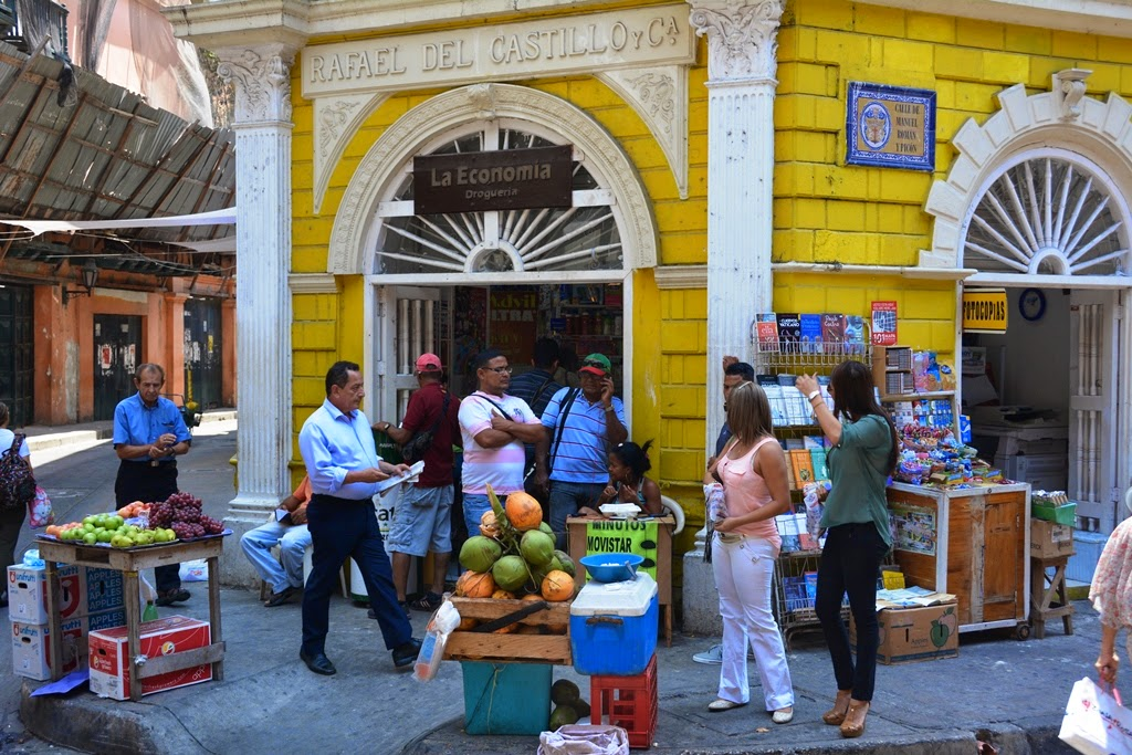 Cartagena des Indes fruit shop