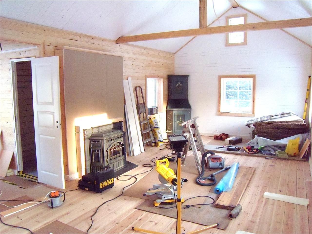 TorpetEriksberg.se: Werkplaats wordt woonkamer