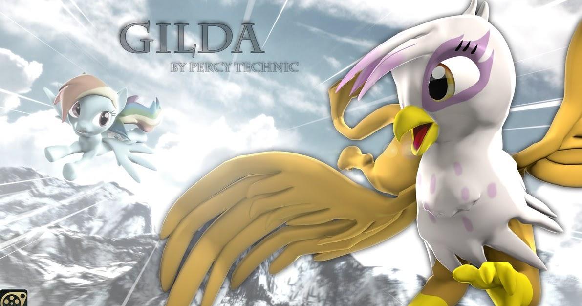 Equestria Daily Mlp Stuff New Version Of Gilda For Sfm