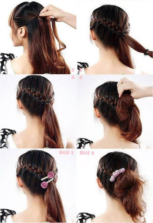 4 Tutorials Steps For  Styling Your Hairs Your Self | Fashion