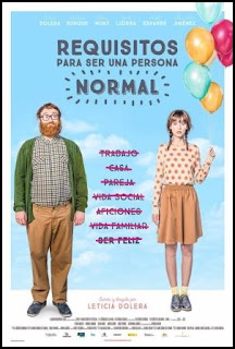 Cartel de Requisitos para ser una persona normal (Leticia Dolera, 2015)