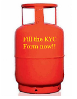 kyc form for LPG gas connection