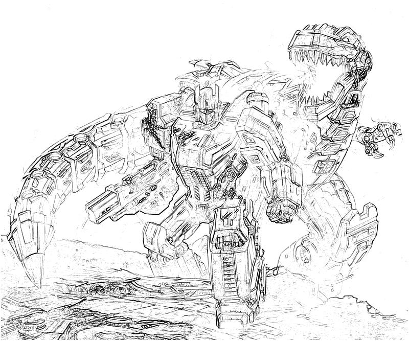 transformer gears coloring pages - photo#13
