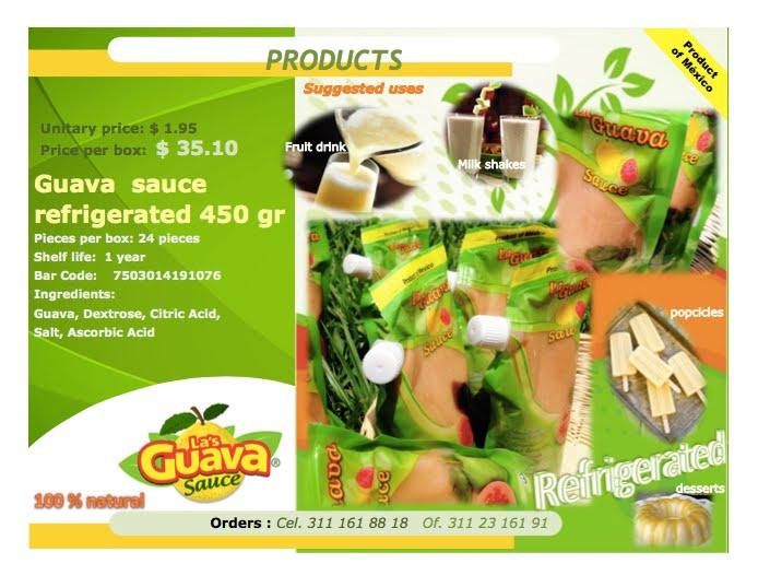 Las Guava Sauce