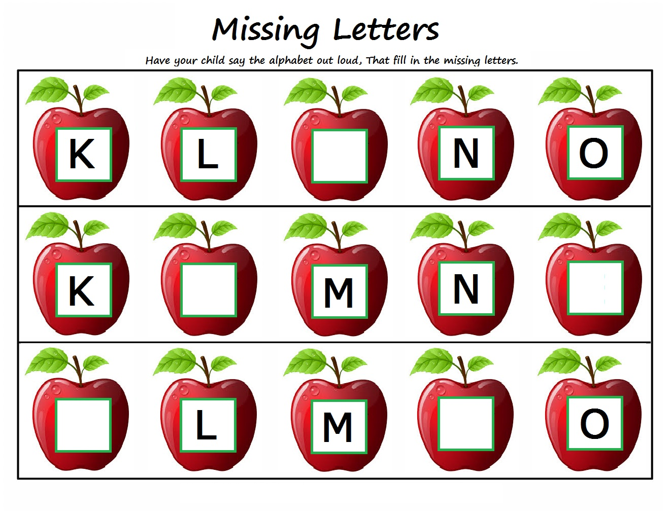 Kindergarten Worksheets Kindergarten Worksheets Missing Letters – Missing Alphabet Worksheets for Kindergarten