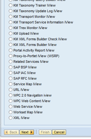Differnet types of IView Templates available in SAP EP 7.3 onlysapep.blogspot.in only sap ep  blogspot