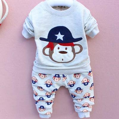 model baju bayi laki laki umur 2 bulan
