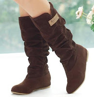 Autumn Brown calf Boots