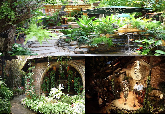 Cafe Sỏi Đá - Những quán cafe sân vườn đẹp tại Sài Gòn
