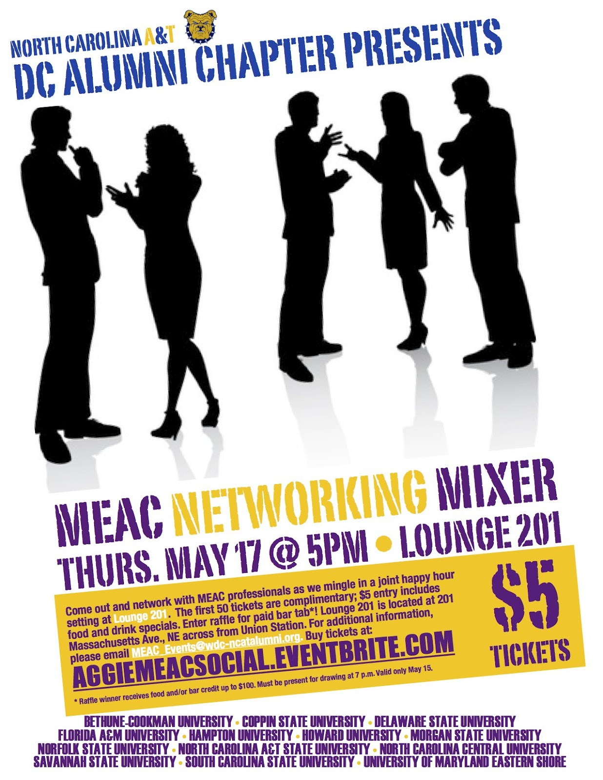 networking flyer