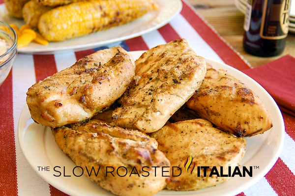 Garlic Beer Marinade Grilled Chicken is fast easy and flavorful. No ...