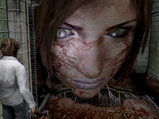 Silent Hill 4 Giant Head