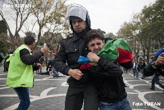 ani margaryan, blog, protest, azerbaijan, baku