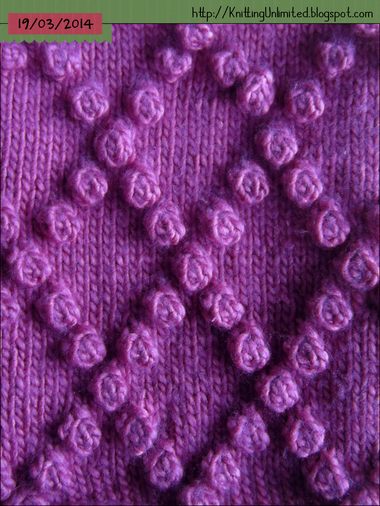 Make Bobble Knit images