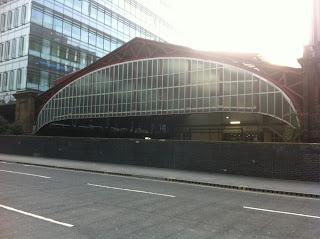 Aldgate Station, London