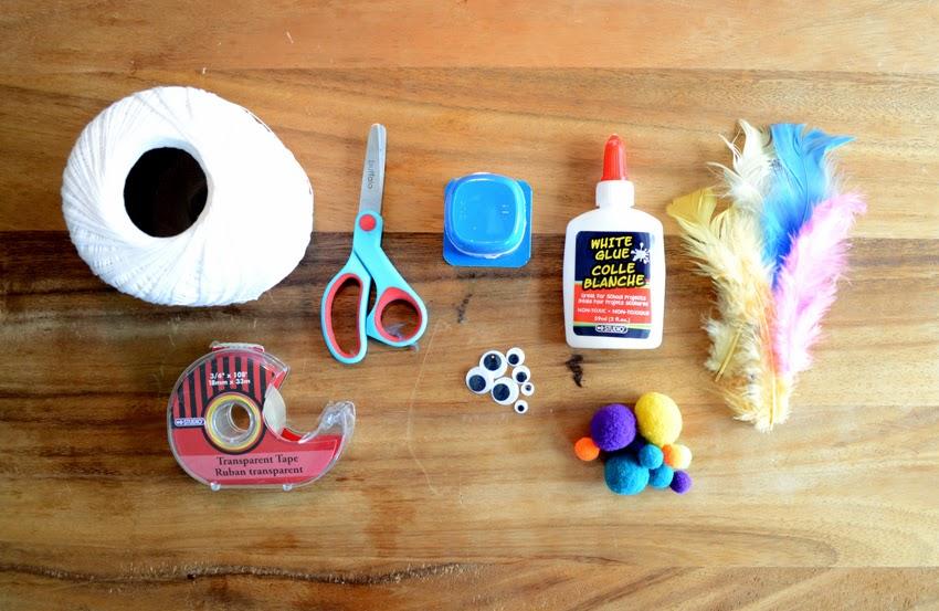 Petits oiseaux de plumes maman bricolage for Petit bricolage facile