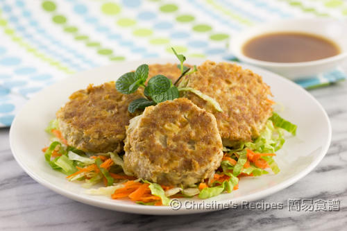 Tofu and Pork Mince Patties02