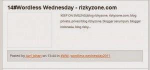 wordless rizkyzone