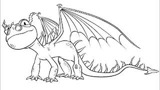Desenhos Para Colorir Os Dragãozinhos NeNeN