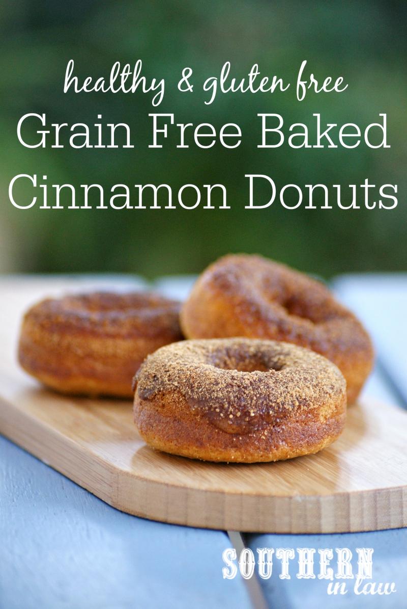 ... Recipe: Grain Free Cinnamon Sugar Baked Donuts (Refined Sugar Free