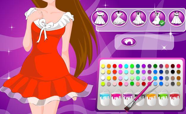 Desenhos do Barbie para colorir Desenhos para colorir - imagens para colorir de vestidos