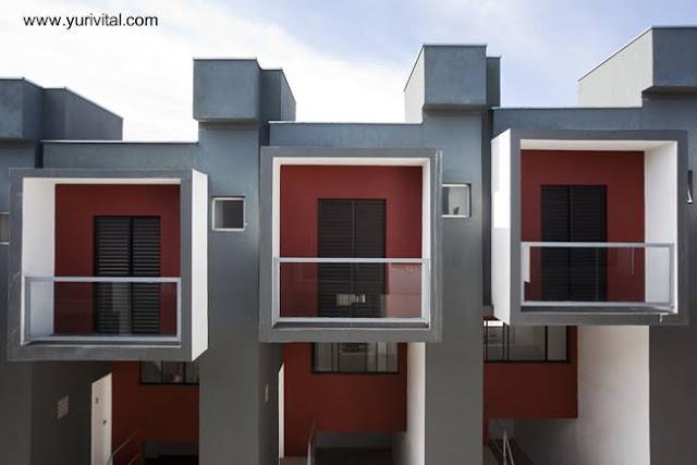 Viviendas populares casas adosadas en Brasil