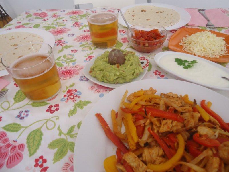 Cocina en familia fajitas de pollo for Cocina en familia