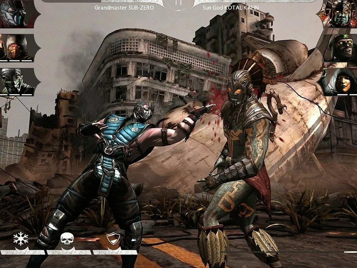 mortal kombat x android apk full game