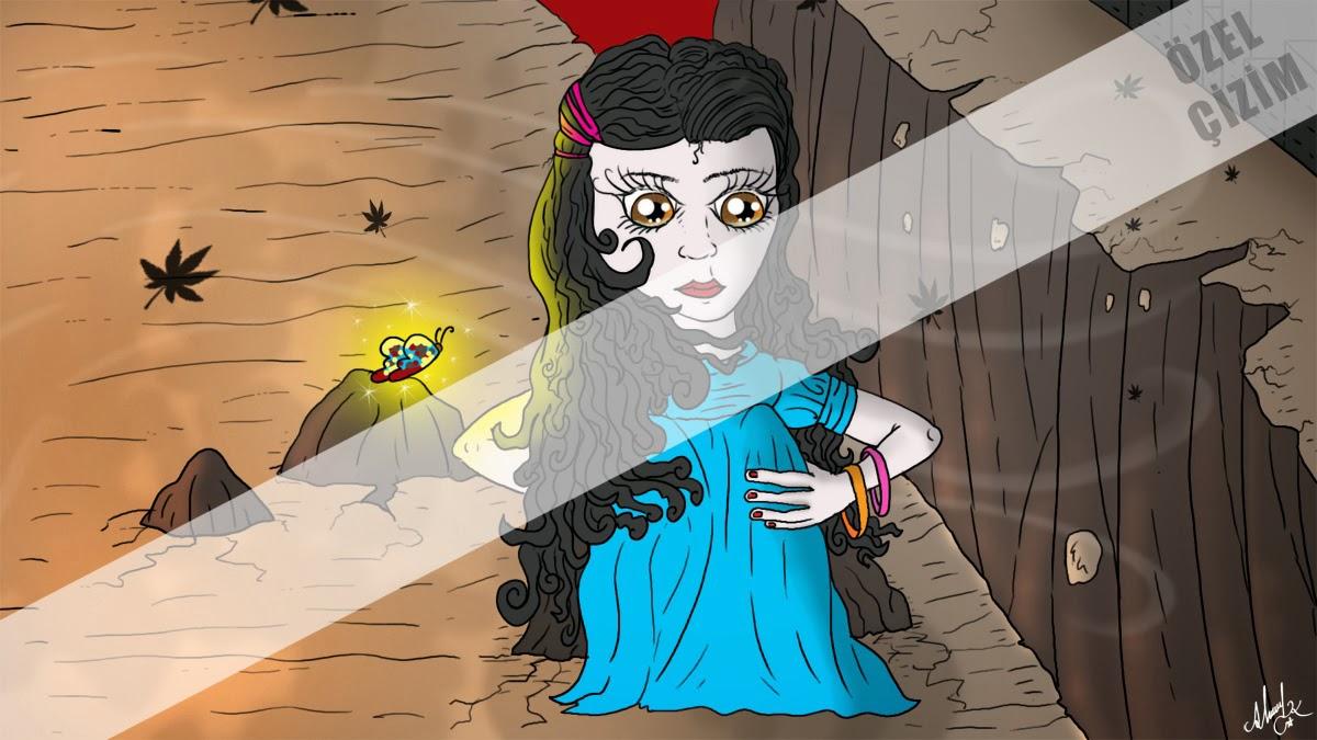 İllustrasyon, karakterize, Profil Resmi, Çizim, kız illustrasyonu,