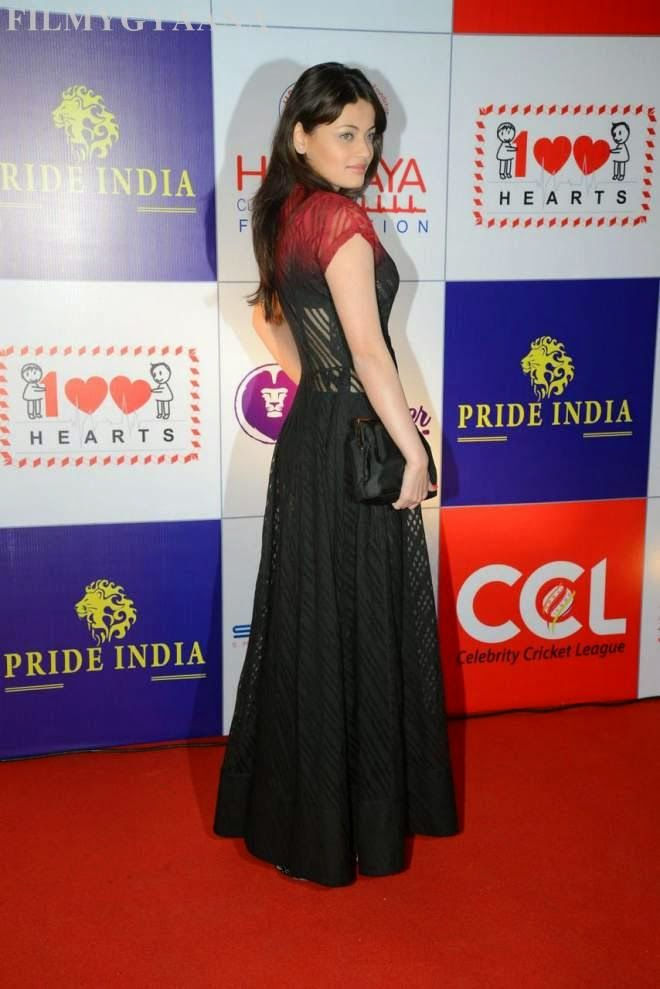 sneha ullal latest hot photos in black gown