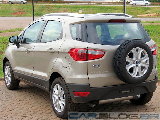Nova Ford EcoSport Titanium Automatica 2014