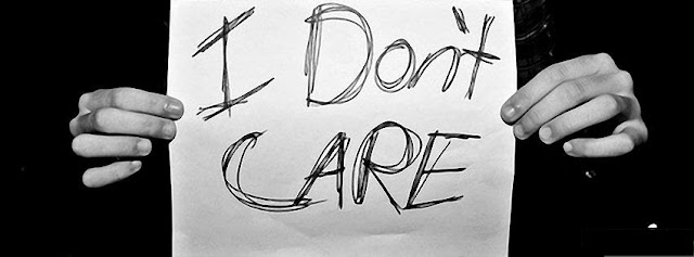 I don't Care Cover Photo - Quotes, Personality