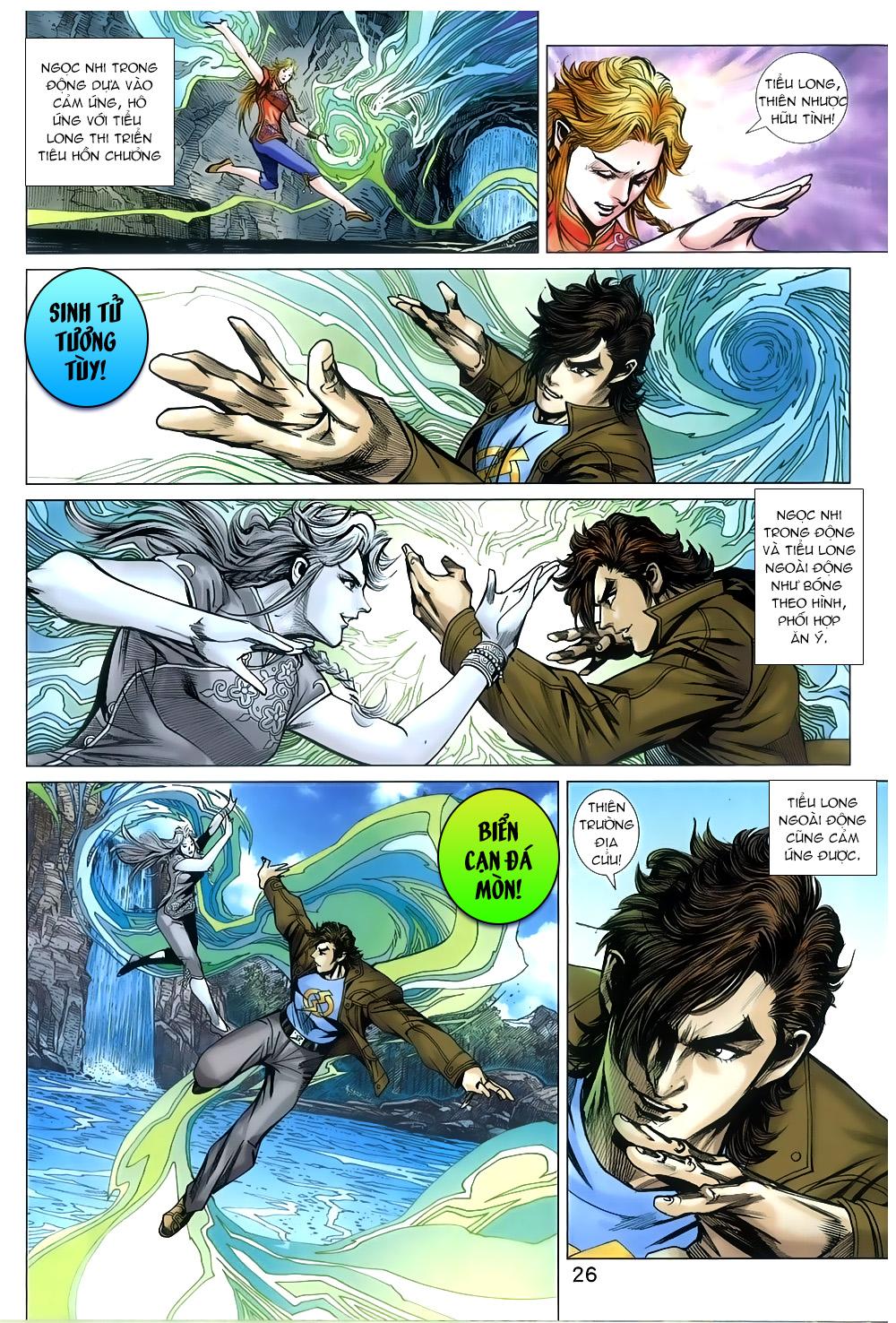 Tân Tác Long Hổ Môn chap 810 Trang 26 - Mangak.info