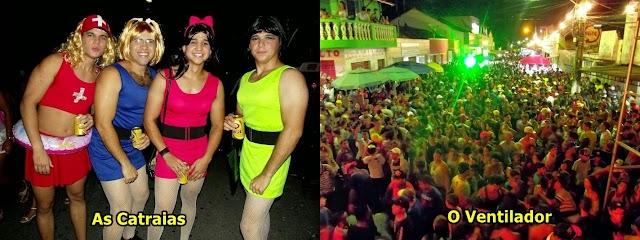 Bloco do Ventilador e As Catraias é uma interrogação no carnaval de Limoeiro