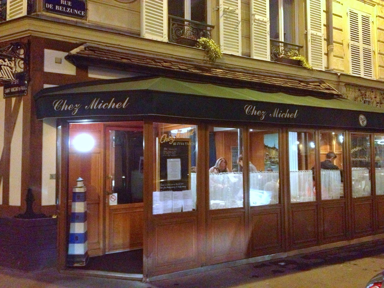 not drinking poison in paris a landmark chez michel 75010