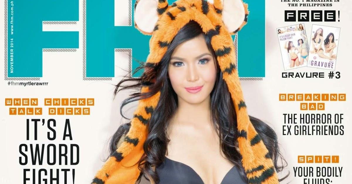 FHM Philippines (Myrtle Sarrosa) - November 2014 - YouTube