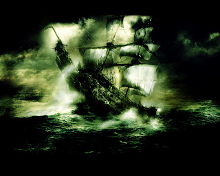 Flying Dutchman Pirate Ship HD Wallpaper